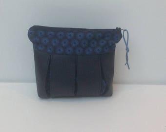 Bag, clutch bag faux leather