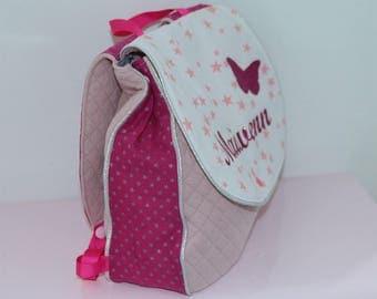 Cartable sac à dos personnalisable pour crèche ou maternelle tout étoilé