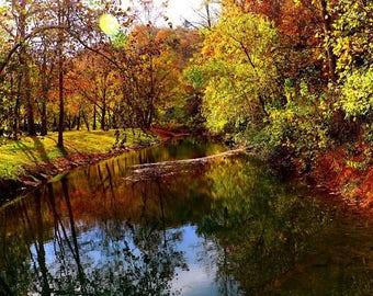 Scenic Fall Landscape, Fine Art Photography, Landscaping Photography, Color Photography, Nature Photography