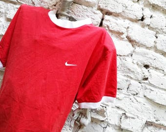 NIKE T-shirt with Vintage contrasting edges