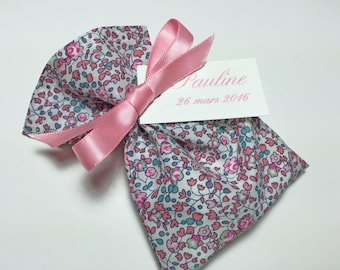 10 customizable bags of sweets in Liberty Eloise pink