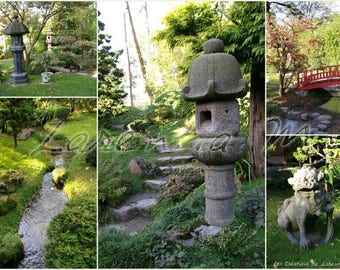 Photo 30X40cm memory on the theme of the Japanese garden