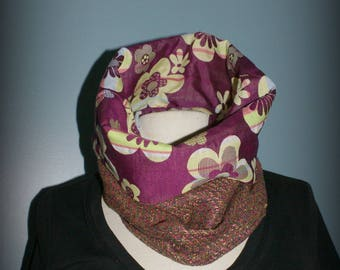 Scarf - Snood Silk Pop