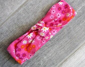 """Headband tie """"flower"""""""