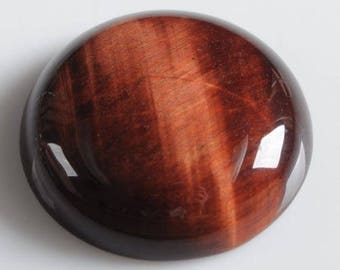 beautiful 25 mm Bull's eye cabochon