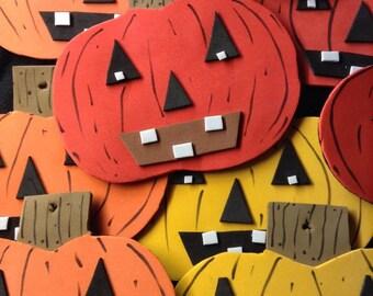 Handmade Foam Pumpkins Decorations