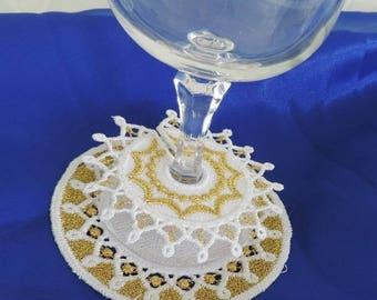 Decoration of glasses (baptism, wedding, communion...)