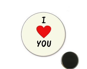 Magnet i love you 32 mm