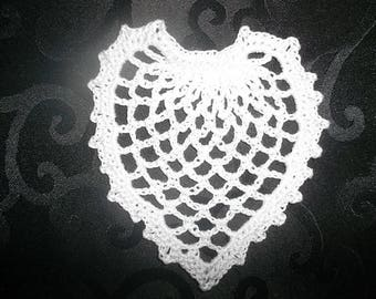 little heart handmade crochet cotton