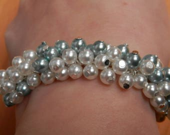 The whole seduction (bracelet beads and silver plated)