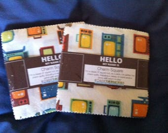 Let Me Entertain You charm squares from Robert Kaufman