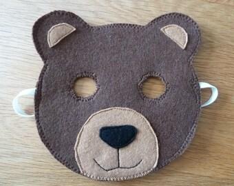 Children's Bear Mask