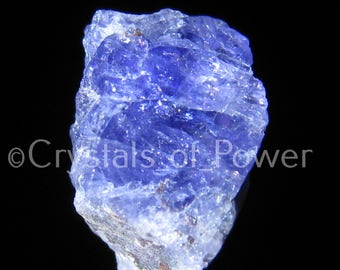 ONE Tanzanite Crystal! Many Are Terminated With Starbraries! Most With Rainbows, Hematite & Calcite! Synergy 12 Stone!