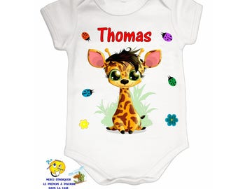 Onesie personalized with name ref 03