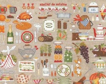 Ladies cooking blessed Embroidery Kit