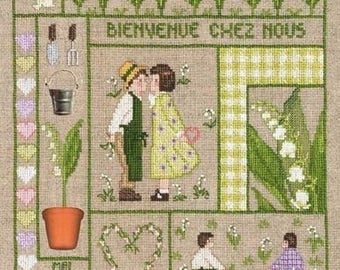 Ladies welcome may blessed Embroidery Kit