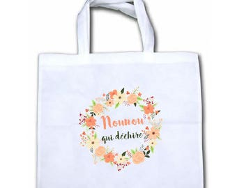 """TOTE bag NONWOVEN """"Nanny (or other) which tears"""""""