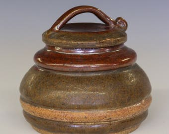 Ceramic Lidded Jar