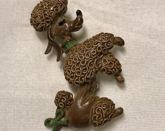 Vintage Gerrys Poodle brooch