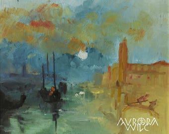 Waters in dawn A4 Fine Art Print