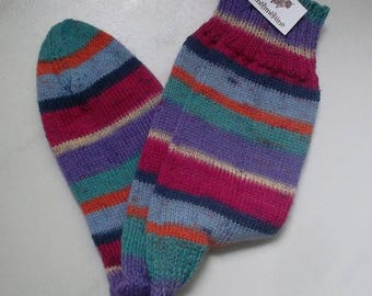 Hydrangea point.36/37 hand knitted socks