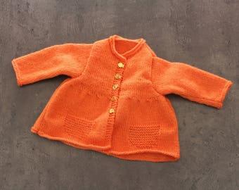 orange vest size 3 months