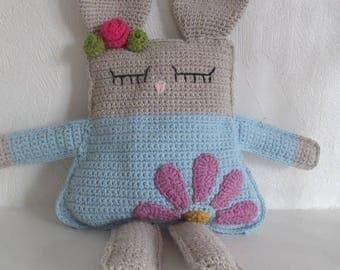 Hand crocheted Bunny