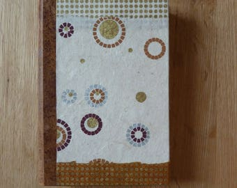 "Agenda ""Zen"" Brown, beige and gold"