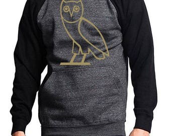 Pullover Fashion Owl Design Hoodies