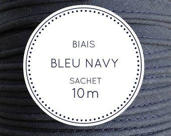 10 m bias - Navy blue bag