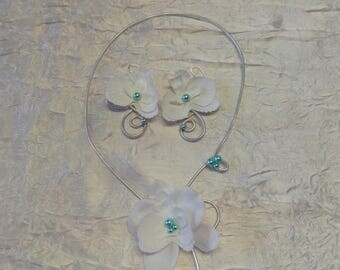 wire wheels wedding or bridesmaid set