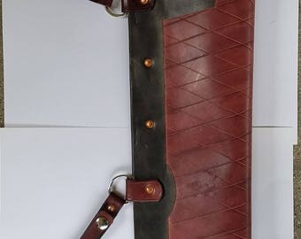 Rover Leather  Belt Quiver