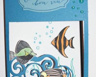 Greeting card - birthday - handmade