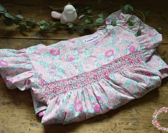 Dress liberty betsy amelie and smocking