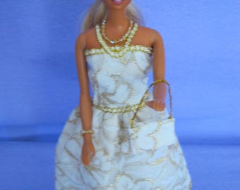 Barbie doll clothes for all designs are hand made