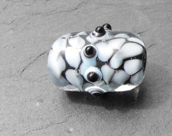 PERL.1636 Murano glass cylinder bead