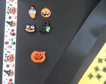 Halloween Pumpkin, spiders, tulle making Kit.