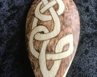 Celtic Knot Wooden Spoon