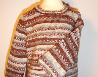 Sweater for boy 18 months Brown