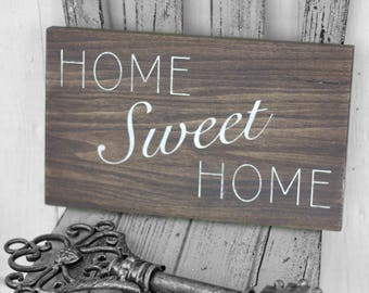 Home Sweet Home | Wooden Sign
