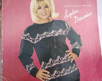 French - KNITTING World No. 254 - SOPHIE DAUMIER KNITTING catalog