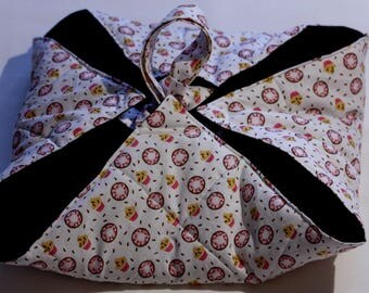 Pie bag quilted cotton for transporting your dishes
