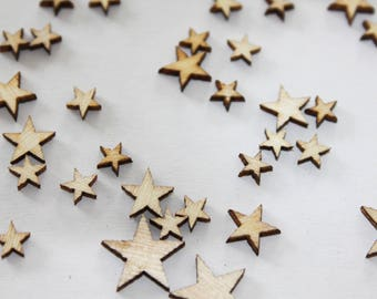 50 x cute little stars for your creative ideas