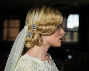 Rhinestone combs, sparkly hair combs, bridal hair combs, diamante hair combs