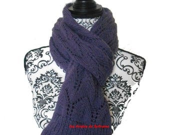 Hat and scarf color BlackBerry