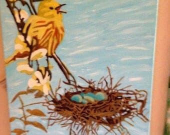 Yellow Bird, Spring Has Arrrived!