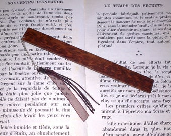 Bookmarks made of Snakewood