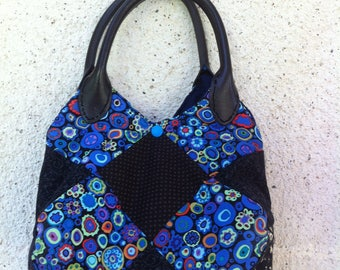 Ball Kaffe Fassett fabric patchwork purse