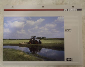 Case 96 Series Tractor Literature