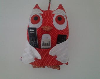 OWL fabric patchwork range remotes reserved